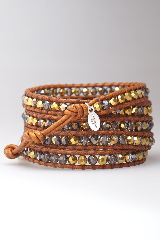 Cheyenne Crystal Wrap Bracelet