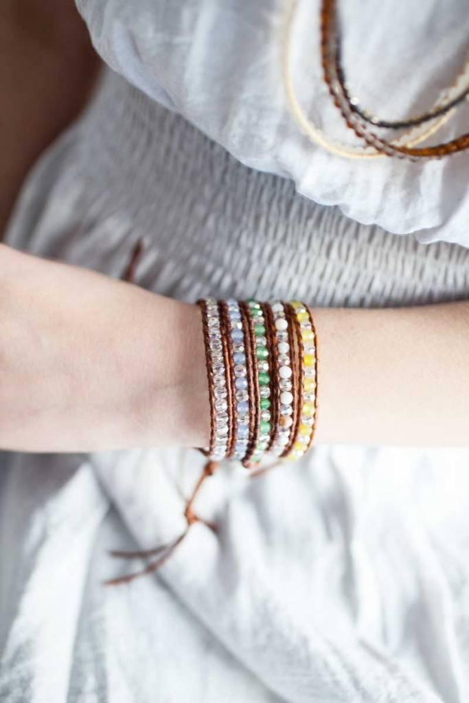Single Layer Wrap Bracelets