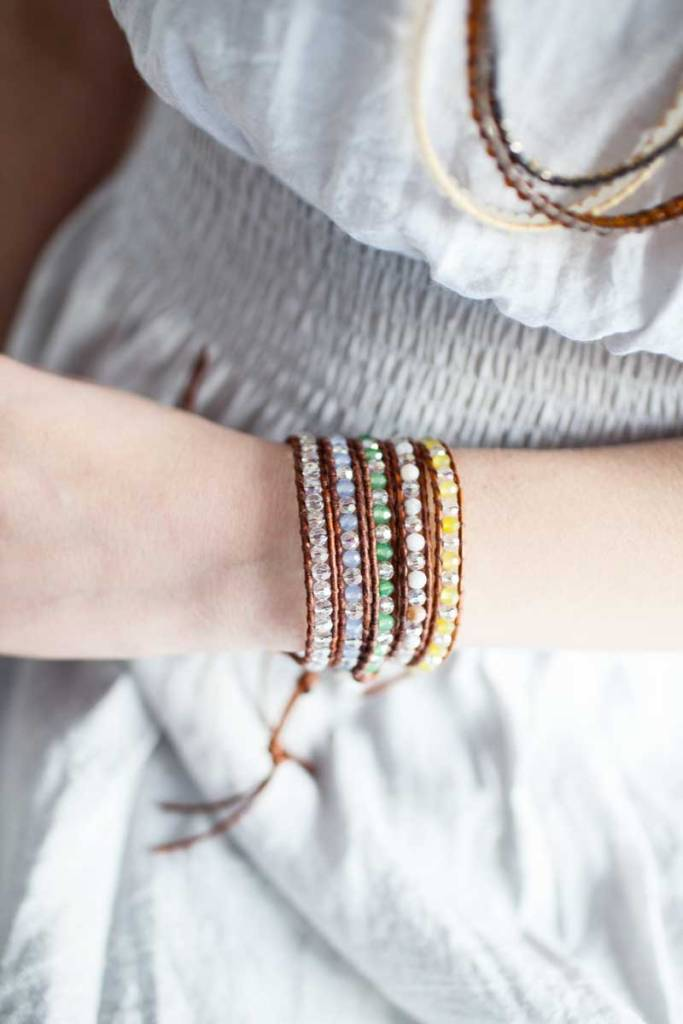 Single Layer Wrap Bracelets