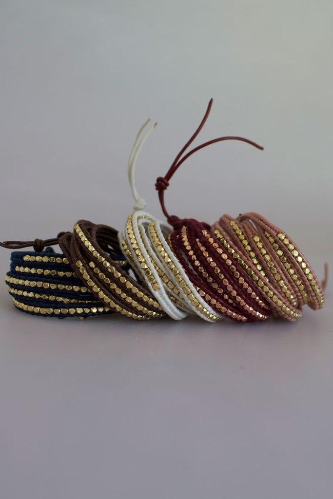 Cluster Wrap Bracelets by Talulah Lee