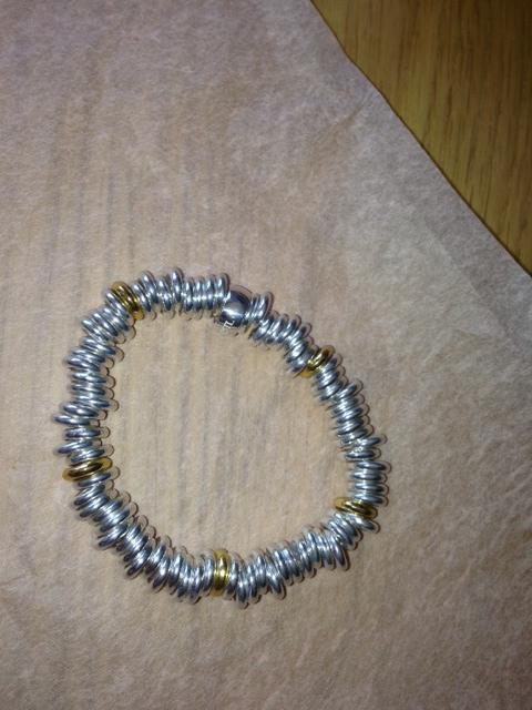 Talulah Lee | Silver and Gold Link Bracelet