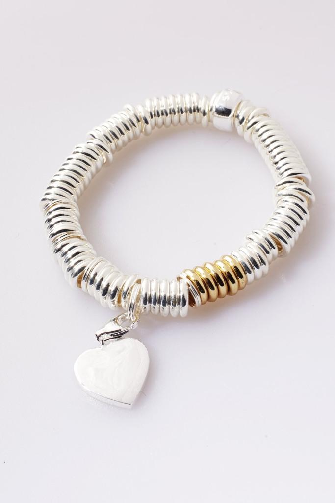 Charm Link Bracelet Gold Accent | Talulah Lee
