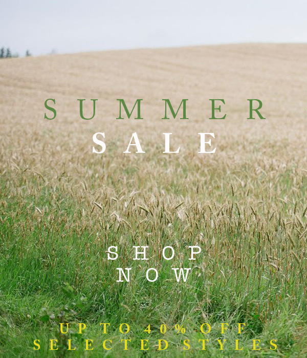 Summer Sale - Up to 40% off selected styles