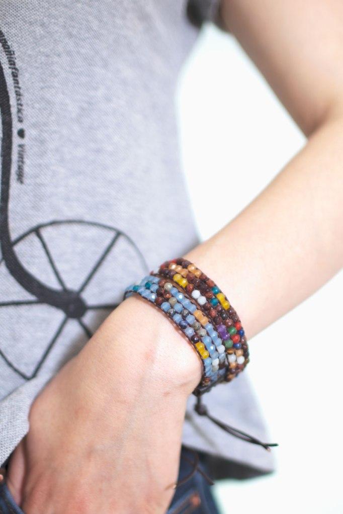 Jade Mix Cuff Bracelets   Talulah Lee