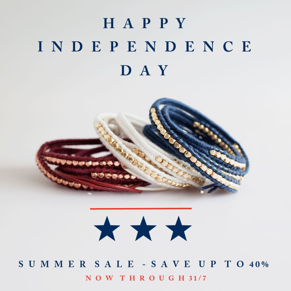 Happy Independence Day to our American Customers!
