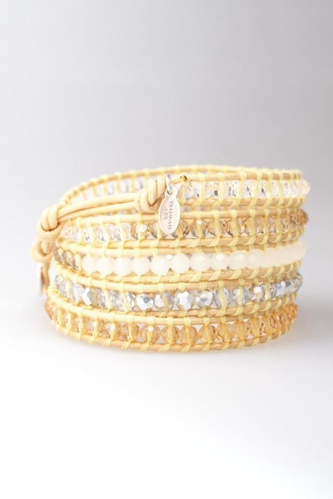 Sunrise Crystal Wrap Bracelet   Talulah Lee
