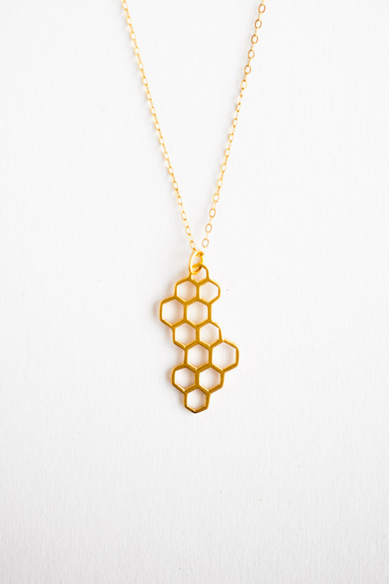 Honeycomb Necklace by Talulah Lee