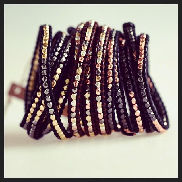 Mixed Cluster Wrap Bracelets