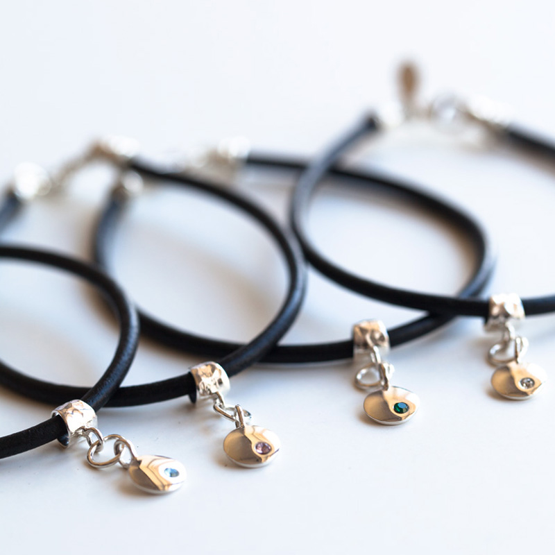 Birthstone Bracelets by Talulah Lee