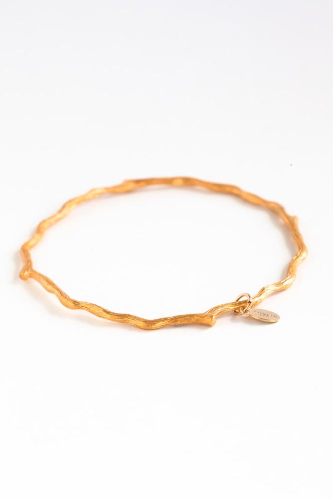 Gold Branch Bracelet I Talulah Lee